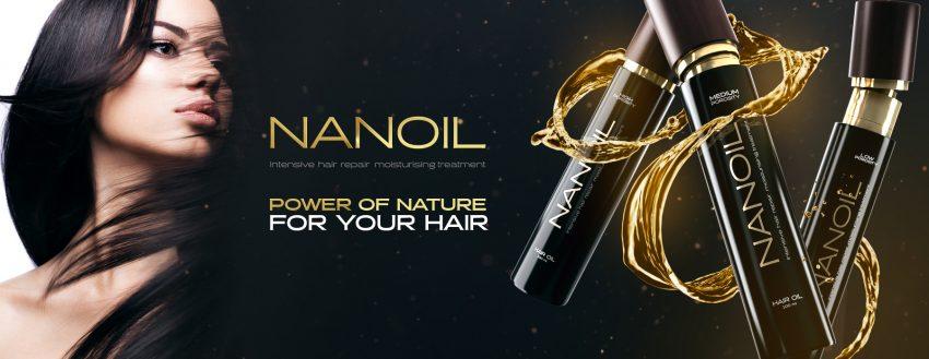 Naturlig hårolje - Nanoil